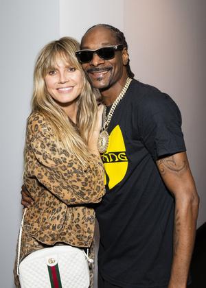 Вот это реп: Хайди Клум и Snoop Dogg на вечеринке (фото 0.1)
