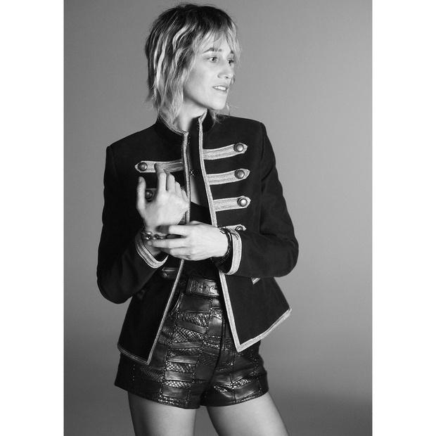 Эмбер Валлетта и Шарлотта Генсбур снялись в новой рекламной кампании Saint Laurent (фото 4)