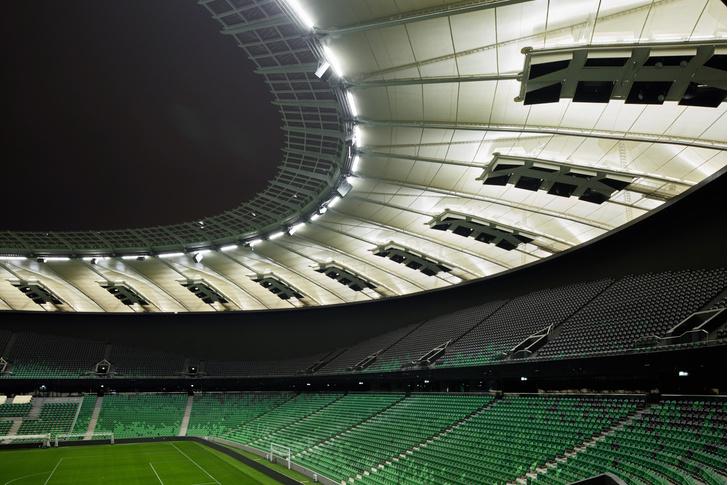 Стадион ФК «Краснодар» вошел в тройку лучших спортивных объектов мира