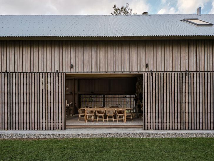 Домик в деревне: загородный дом в стиле Барнхаус в Австралии (фото 4)