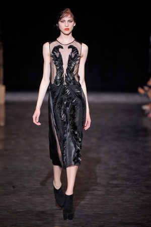 Показ Basil Soda коллекции сезона Осень-зима 2012-2013 года haute couture - www.elle.ru - Подиум - фото 404057