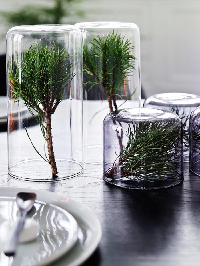 Чем заменить новгоднюю елку? Зеленый декор своими руками (фото 9)