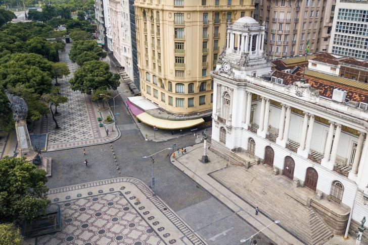 Как выглядит опустевший Рио-де-Жанейро (фото 3)