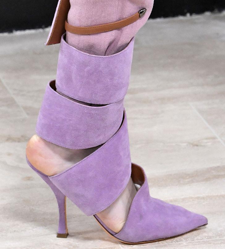 Обувь на Неделе моды в Париже, которую вы будете носить весной фото [6]
