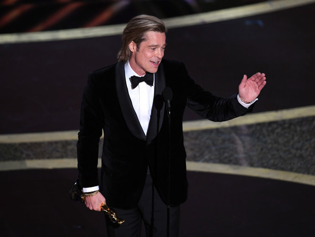 Брэд Питт получил «Оскар» (фото 4)