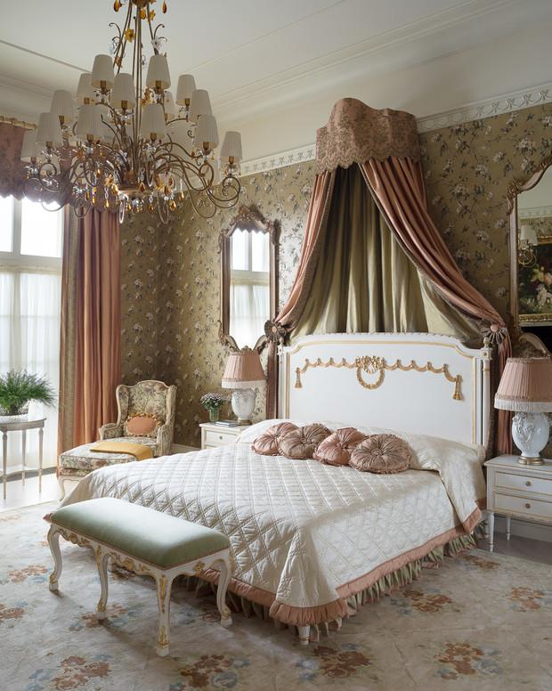 Зеркала в спальне: +25 примеров (галерея 1, фото 24)