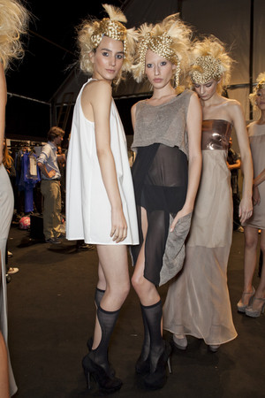 Показ New upcoming designers коллекции сезона Весна-лето 2013 года prêt-à-porter - www.elle.ru - Подиум - фото 452759