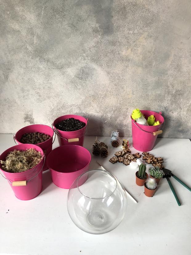 Как сделать зимний флорариум своими руками (фото 2)