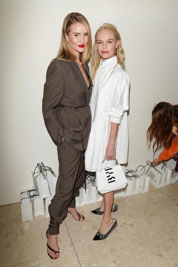 Вот это дуэт: Роузи Хантингтон-Уайтли и Кейт Босуорт на открытии бутика в Лос-Анджелесе (фото 2)
