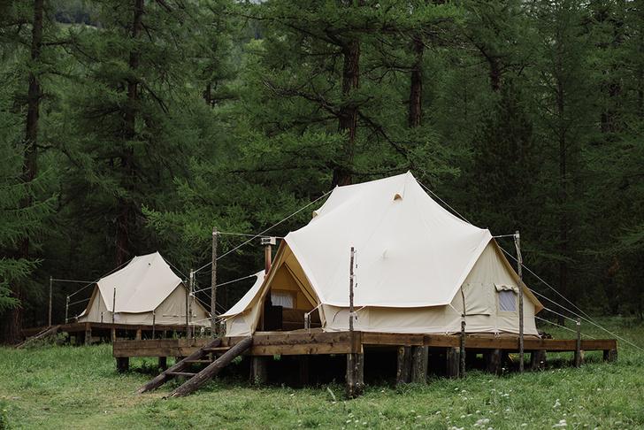 Новый романтизм: палаточный отель «Лес и море» в Калязине и на Алтае (фото 5)