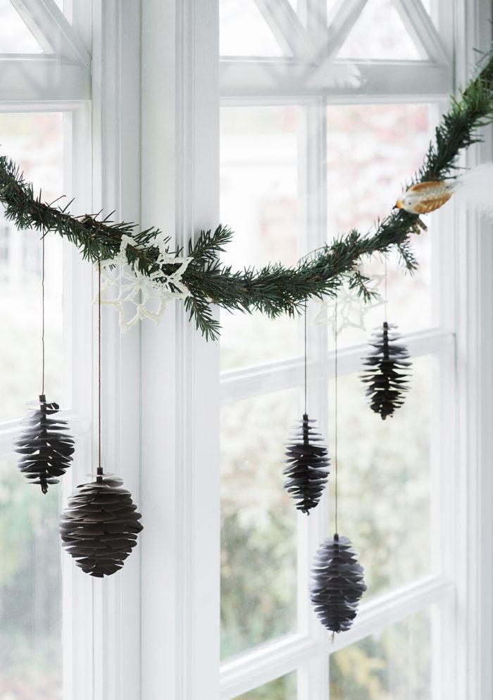 Чем заменить новгоднюю елку? Зеленый декор своими руками (фото 3)