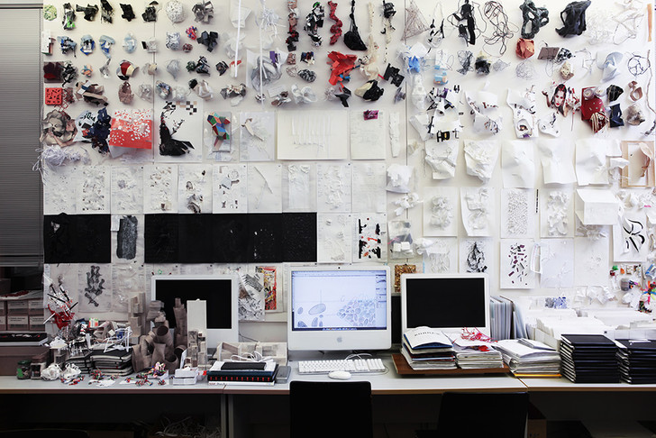 Интерьер студии ЭДАС, 2013 год.