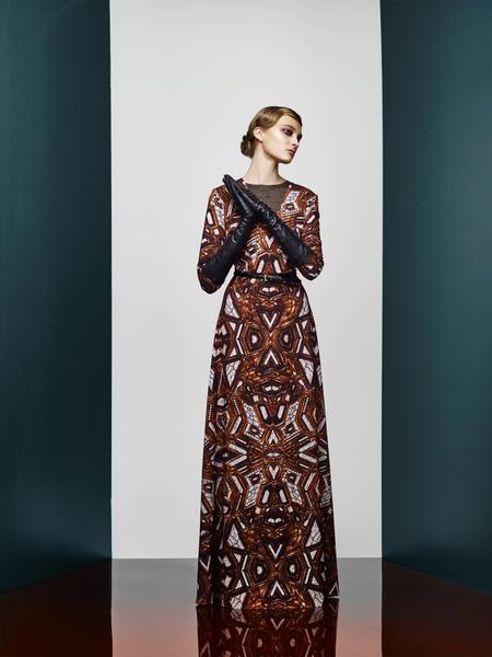 Хозяйка Медной горы: новая pre-fall коллекция A LA RUSSE Anastasia Romantsova | галерея [2] фото [2]