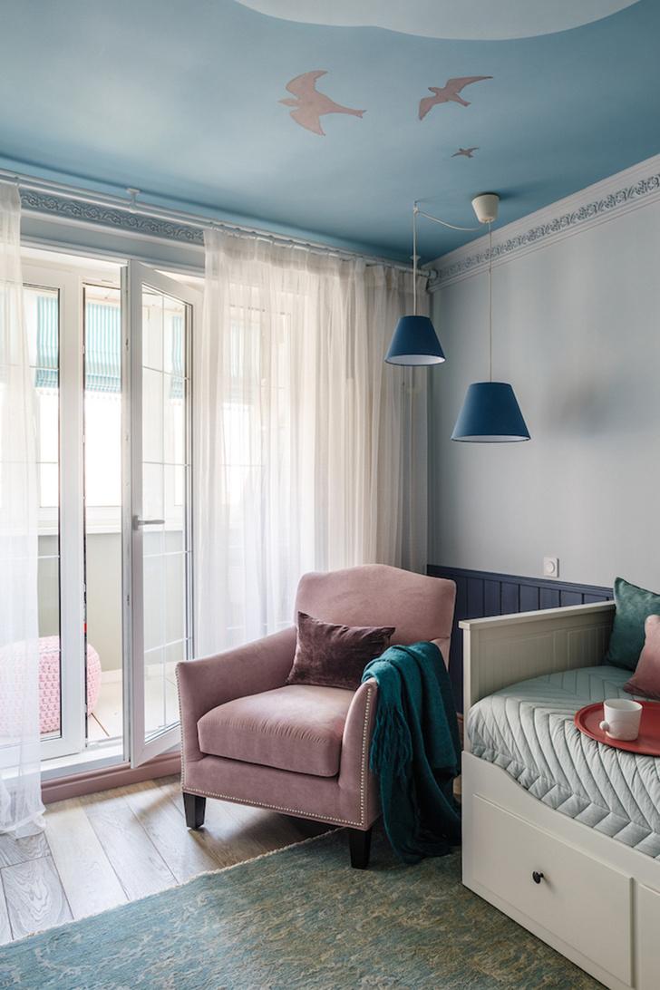 Интерьер трехкомнатной квартиры на Шереметьевской фото [8]