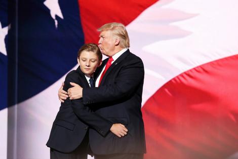 Дональд Трамп станет дедушкой в девятый раз | галерея [1] фото [2]