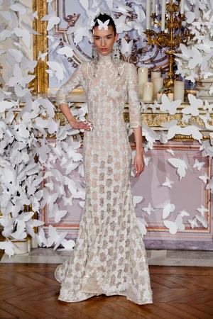 Показ Alexis Mabille коллекции сезона Весна-лето 2014 года haute couture - www.elle.ru - Подиум - фото 574428