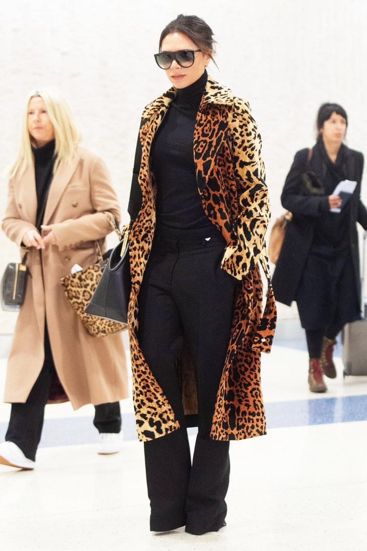 Как носить леопард: новый выход Виктории Бекхэм (фото 3)
