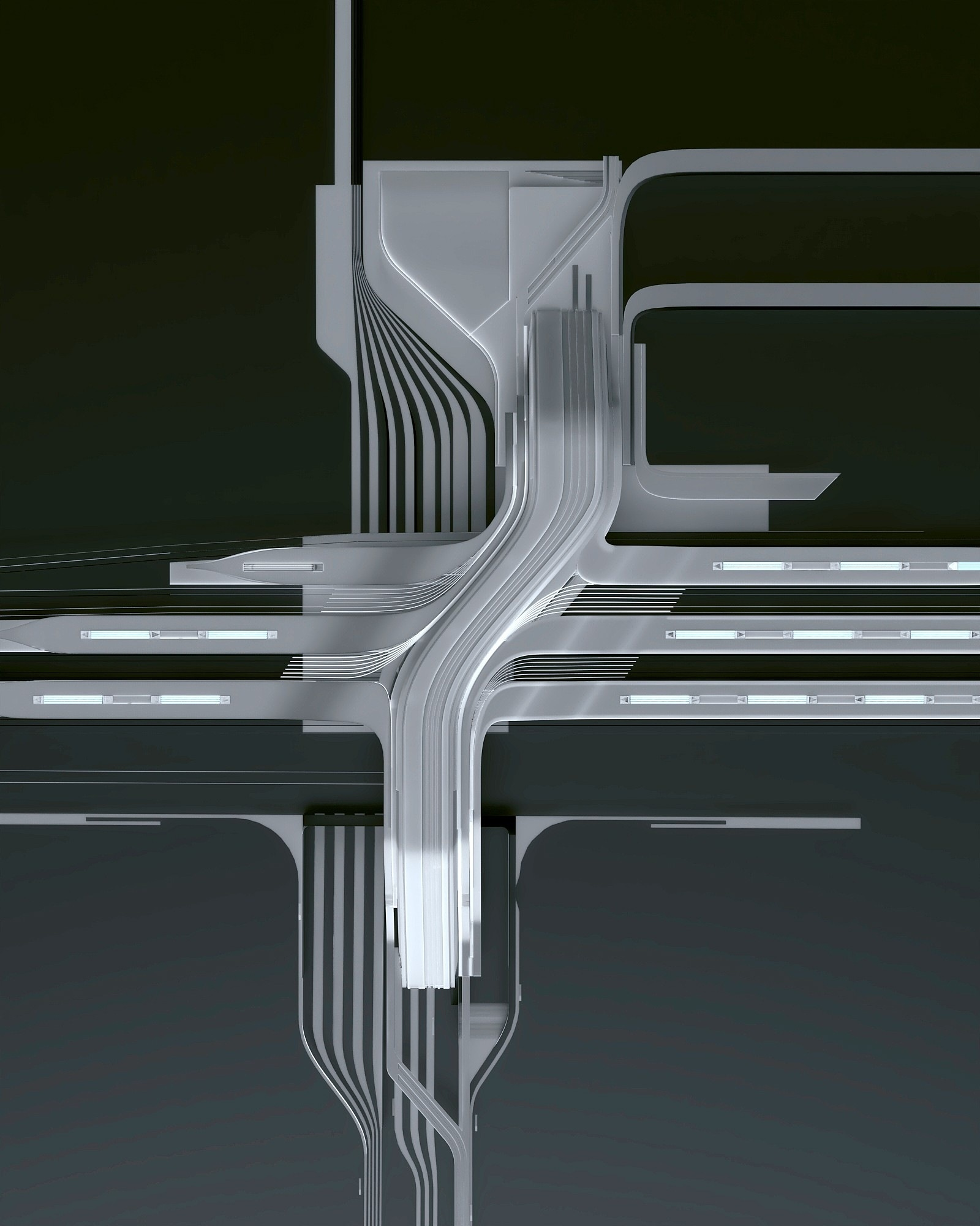Zaha Hadid Architects построит в Таллинне мост-вокзал (галерея 8, фото 1)