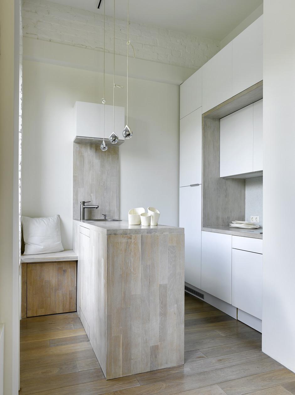 Маленькие кухни: 30 интерьеров (галерея 0, фото 0)