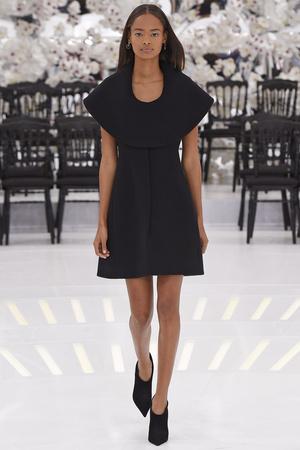 Показ Christian Dior коллекции сезона Осень-зима 2014-2015 года Haute couture - www.elle.ru - Подиум - фото 584658