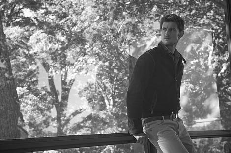 «Стеклянный Дом» Филипа Джонсона – герой рекламной кампании Tod's | галерея [1] фото [4]