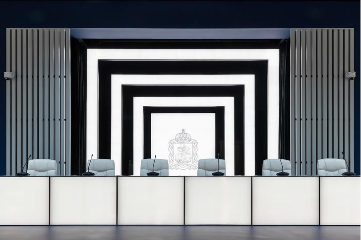 Зал заседаний Мособлдумы в стиле «Звездных войн» (фото 12)