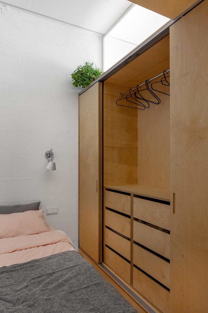 Короткий метр: студия 32 м² для молодой девушки (фото 10)