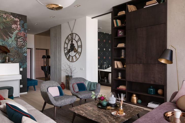 Дизайнерская квартира для трех сестер в Киеве (фото 2)