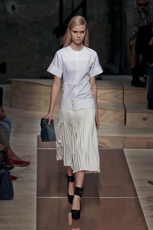 Показы мод Celine Весна-лето 2012 | Подиум на ELLE - Подиум - фото 1799