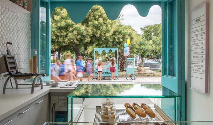 Магазин сладостей в Греции фото [2]