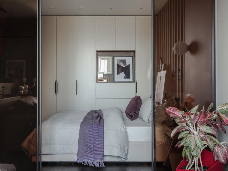 Маленькая спальня: 7 практичных решений (фото 18)