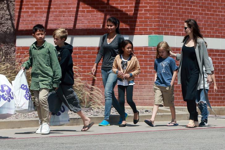 Питт предложил Джоли половину своих денег за общую опеку над детьми (фото 5)