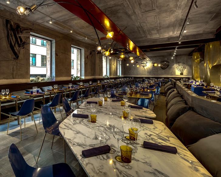 Парижский ресторан Jacopo – проект Натальи Белоноговой (фото 14)
