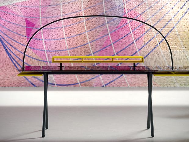 Офисная мебель по дизайну Карима Рашида (фото 8)