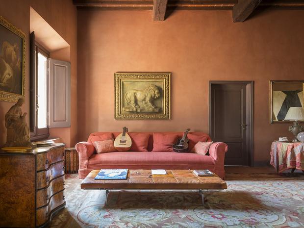Дома звезд: вилла Стинга в Тоскане (фото 9)