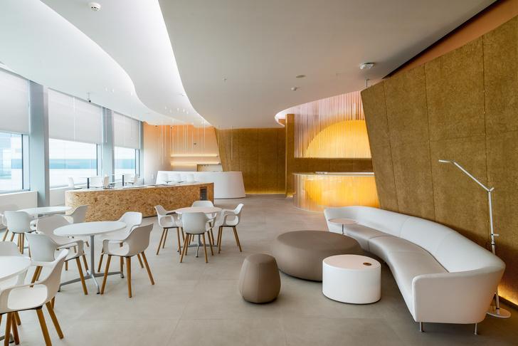 Бизнес-лаундж аэропорта «Платов» в Ростове-на-Дону: проект VOX Architects (фото 2)