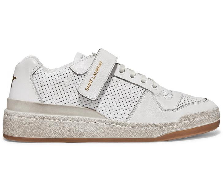 Белые кожаные кеды — константа гардероба. Какие выбрать? (фото 27)