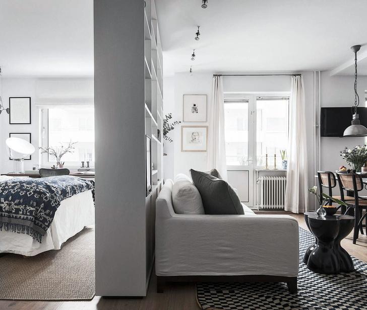 Маленькая спальня: 7 практичных решений (фото 27)