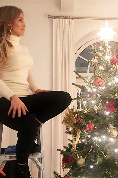 Пара года: как Дженнифер Лопес и Алекс Родригес готовятся к Рождеству? (галерея 1, фото 1)