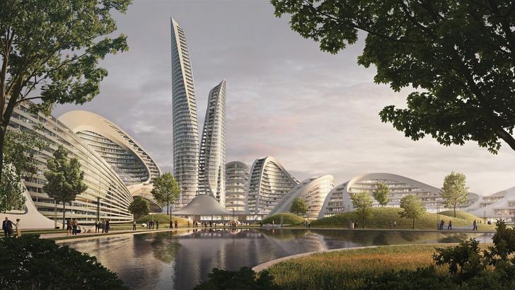 Главные проекты Zaha Hadid Architects в России (фото 1)