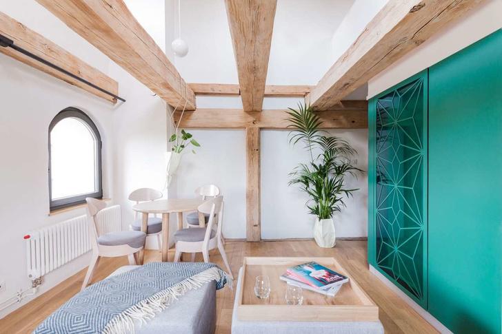 Современные апартаменты в готическом здании (фото 4)