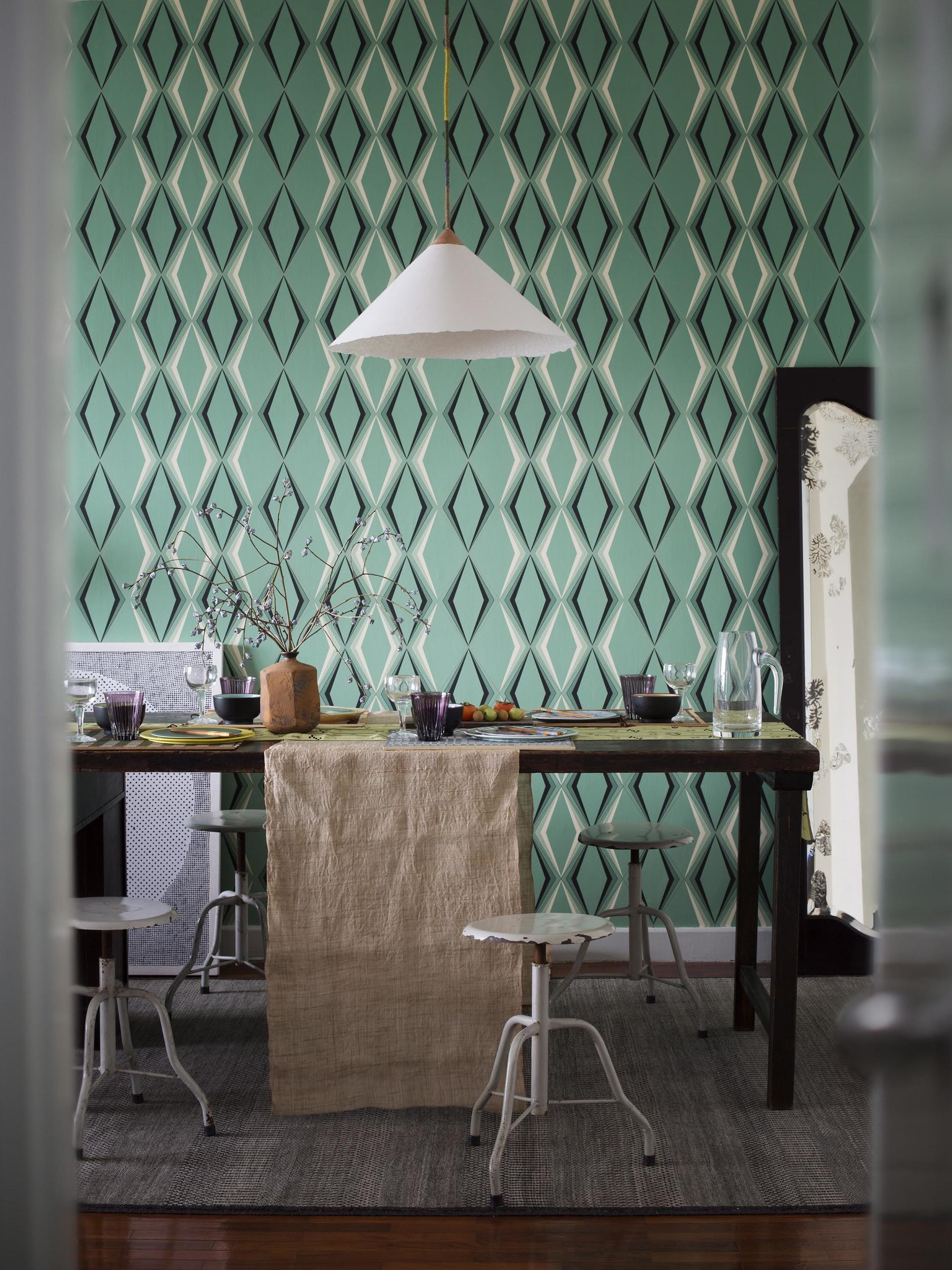 25 интерьеров зеленого цвета (галерея 0, фото 10)
