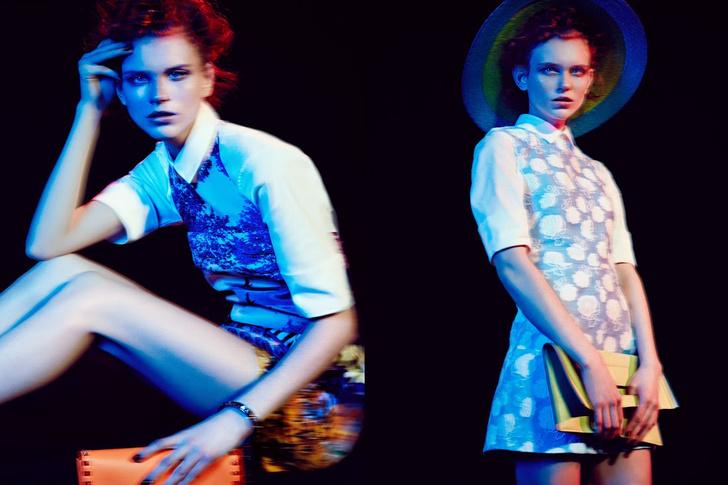 тренды женской моды весна 2014