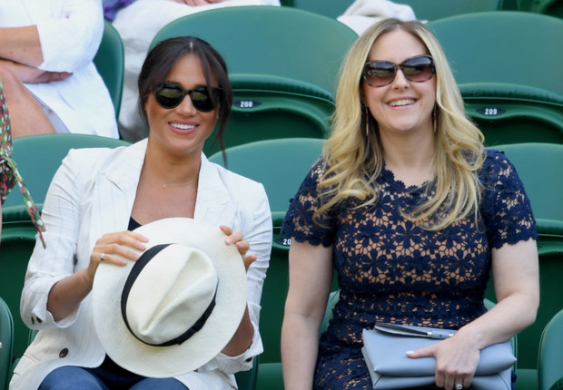 Настоящая подруга: Меган Маркл пришла поддержать Серену Уильямс на Уимблдоне (фото 2)