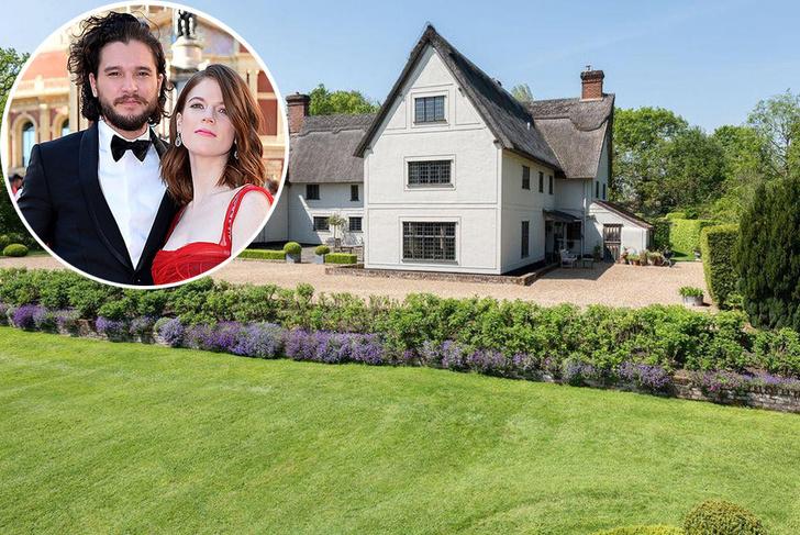 Новый загородный дом Кита Харингтона в английской глубинке фото [43]