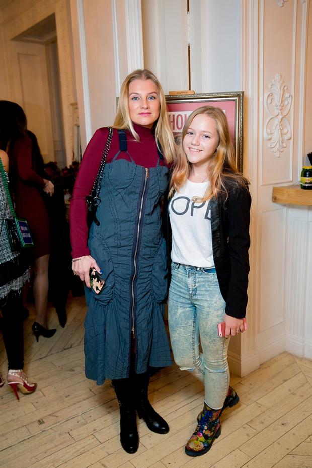 Галина Данилова с дочерью Ульяной