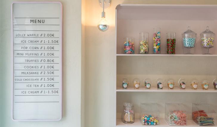 Магазин сладостей в Греции фото [4]