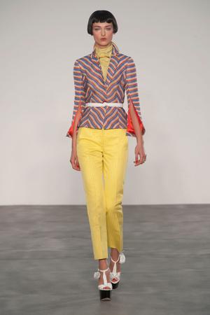 Показы мод L'Wren Scott Весна-лето 2014 | Подиум на ELLE - Подиум - фото 3584