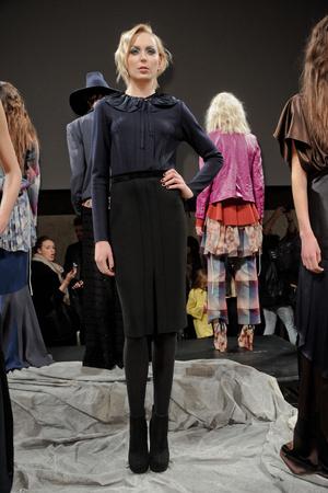 Показы мод Chris Benz Осень-зима 2011-2012 | Подиум на ELLE - Подиум - фото 2371