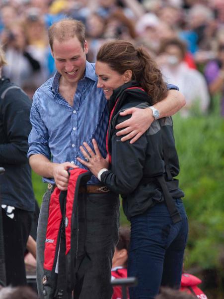 История любви Кейт Миддлтон и принца Уильяма в фотографиях   галерея [1] фото [2]